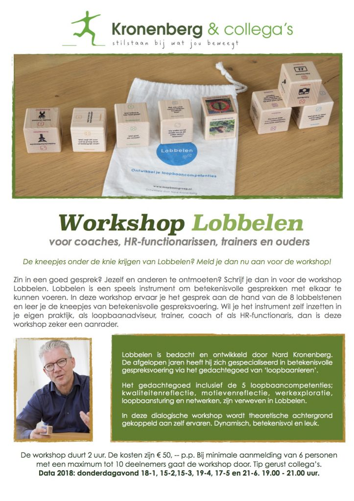 Workshop Lobbelen